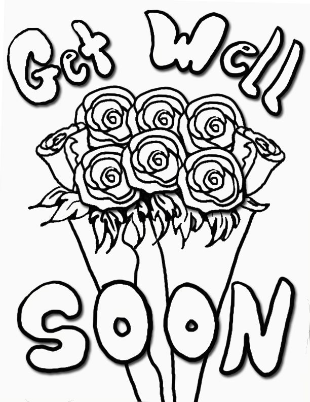 coloring printable get well cards get well soon coloring page free printable coloring pages printable cards coloring well get