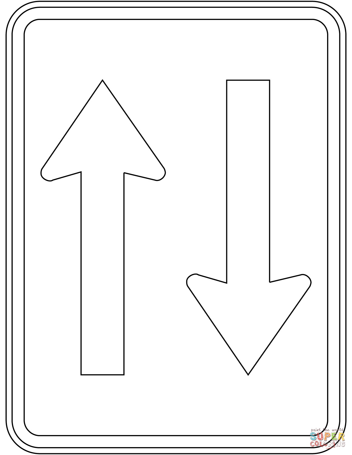 coloring printable road signs coloring page traffic signs coloring picture traffic printable coloring road signs