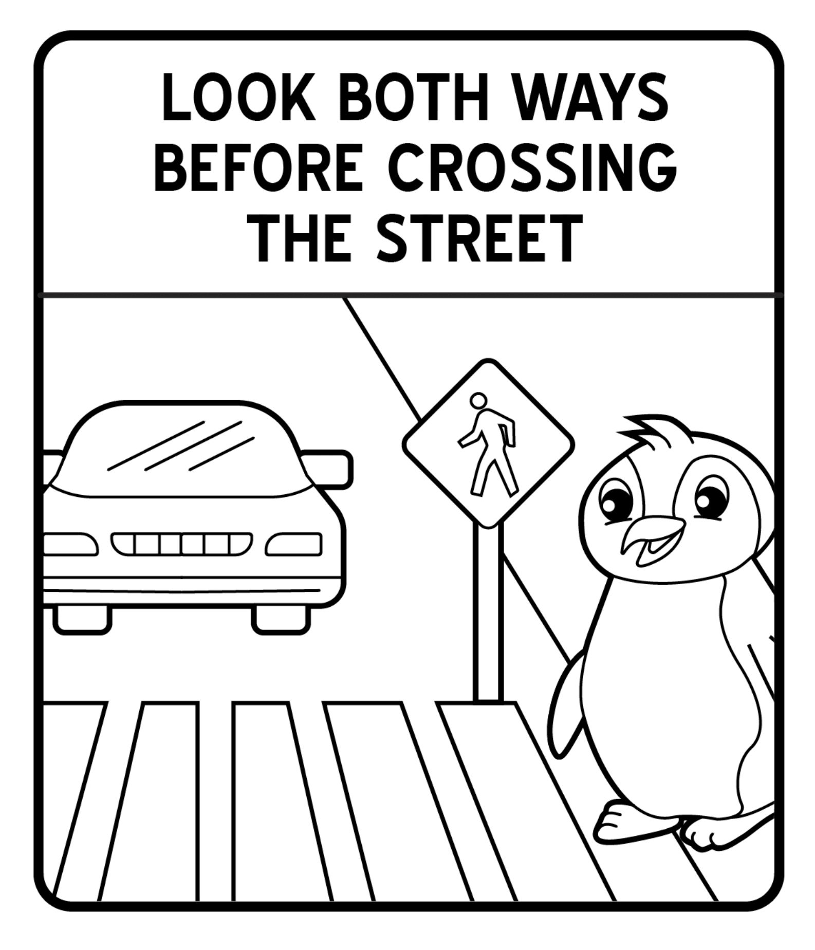 coloring printable road signs road signs coloring pages road clipart panda free signs road coloring printable