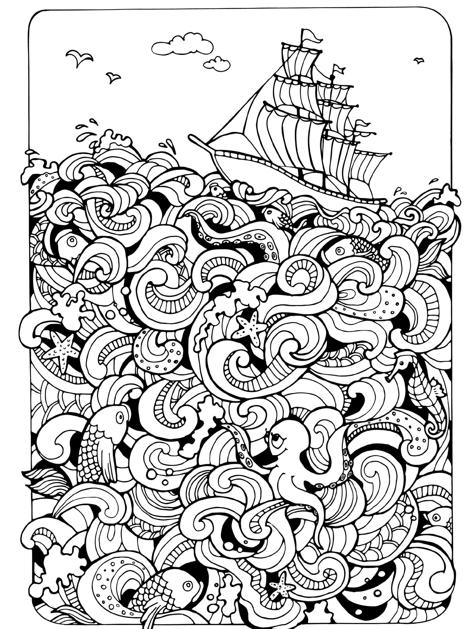 coloring prints for adults free printable abstract coloring pages for adults for adults prints coloring
