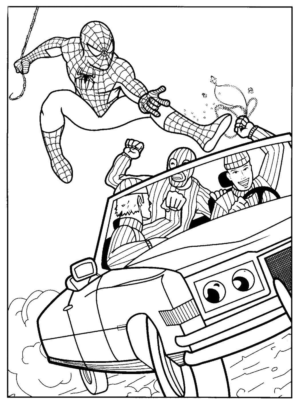 coloring prints spiderman coloring pages prints coloring