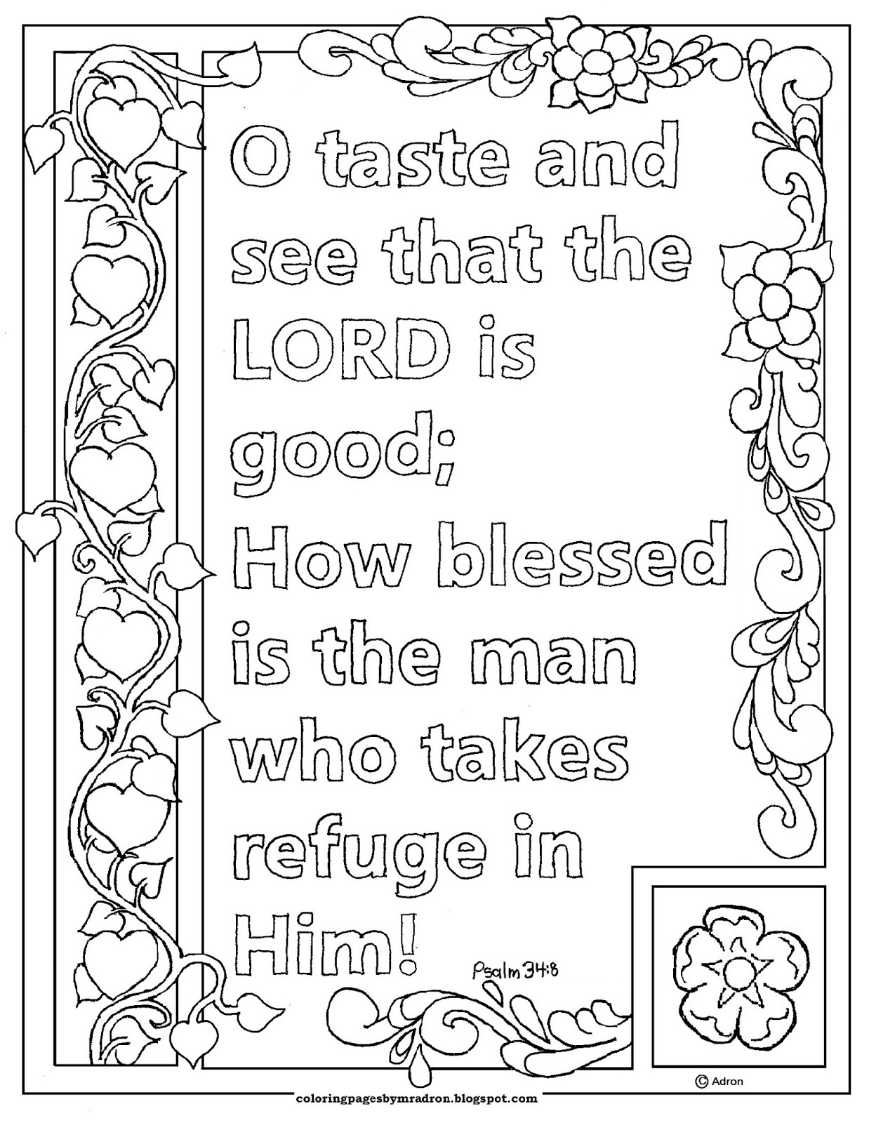 coloring psalm 8 coloring pages for kids by mr adron free psalm39 48 psalm coloring 8