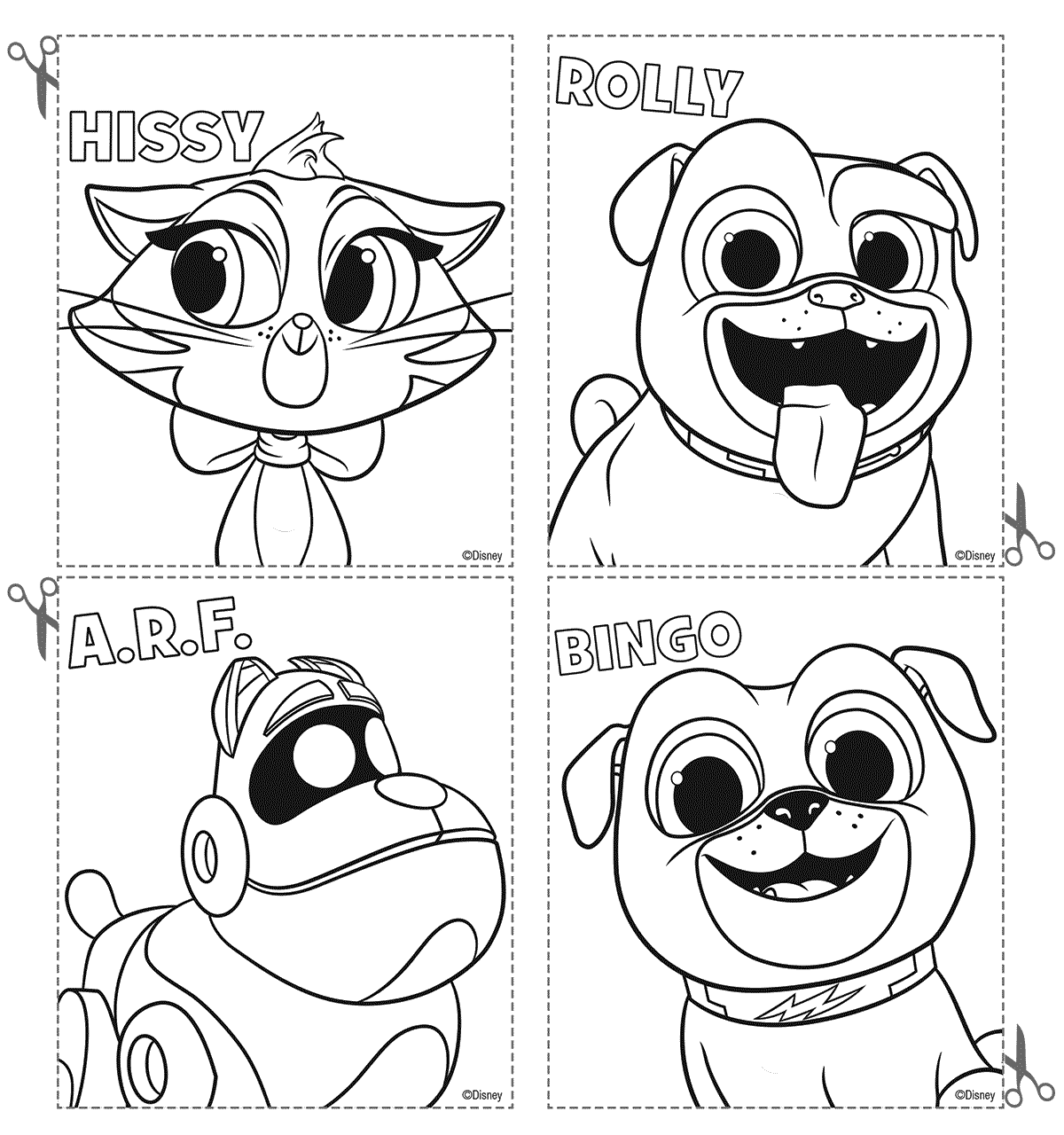 coloring puppy dog pals cute puppy dog pals coloring page dogs and puppies puppy dog coloring pals