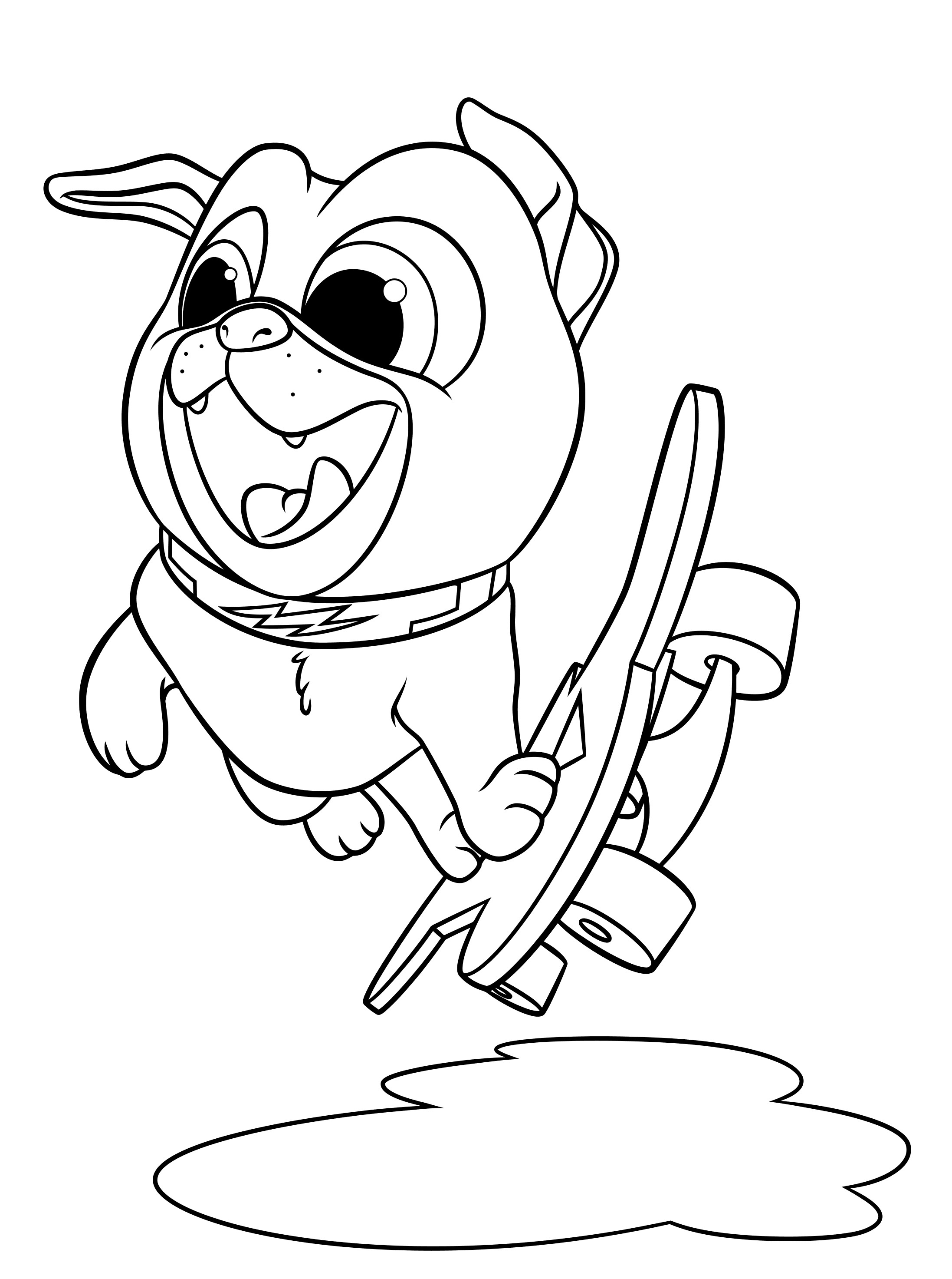 coloring puppy dog pals puppy dog pals coloring pages to download and print for free dog puppy coloring pals