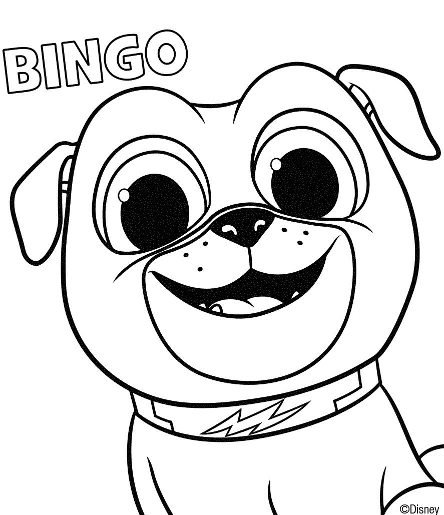 coloring puppy dog pals puppy dog pals coloring pages to print coloring puppy pals dog