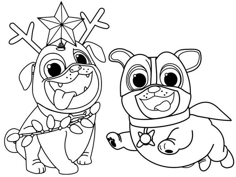 coloring puppy dog pals puppy dog pals coloring pages to print pals dog coloring puppy