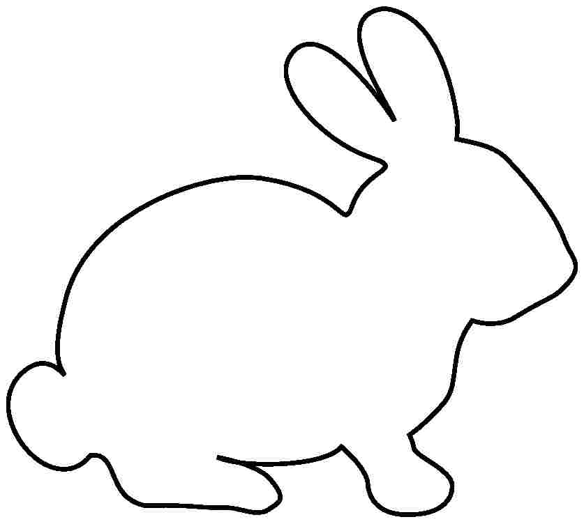 coloring rabbit clipart 35 best easter bunny coloring pages we need fun coloring rabbit clipart