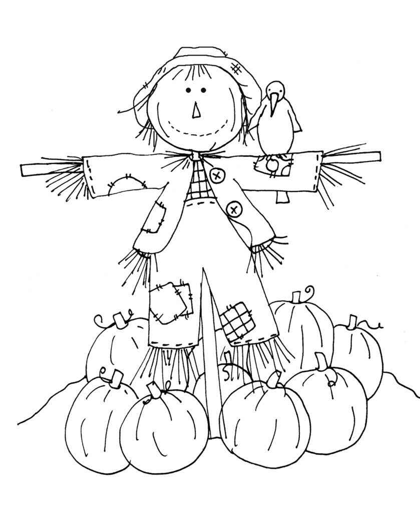 coloring scarecrow coloring pages of scarecrows for preschooers coloring home coloring scarecrow