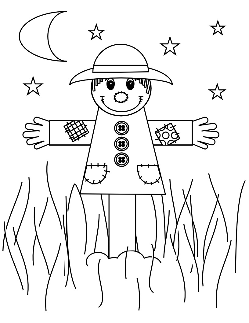 coloring scarecrow get this online scarecrow coloring pages for kids 8qgdr scarecrow coloring