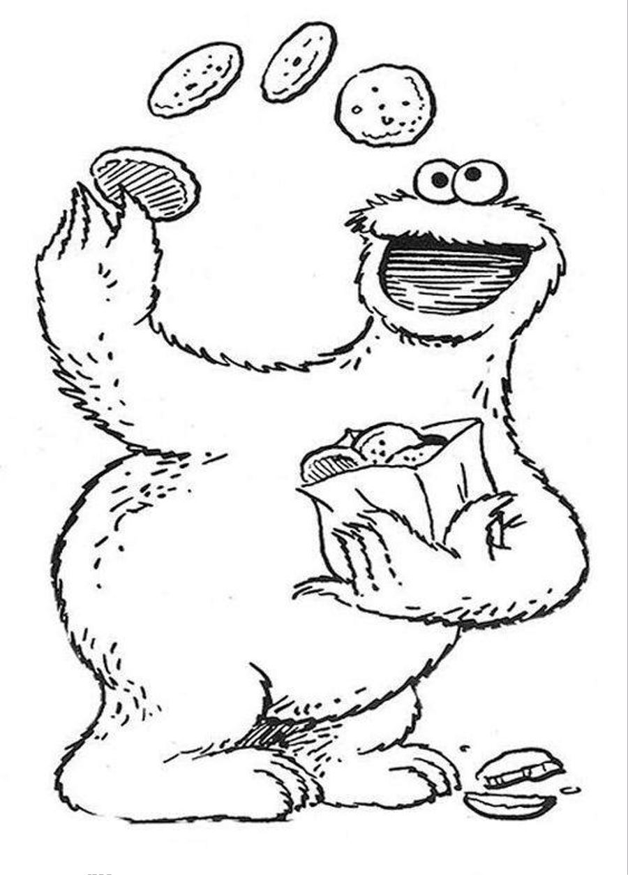 coloring sesame street printables sesame street coloring pages to download and print for free street coloring sesame printables