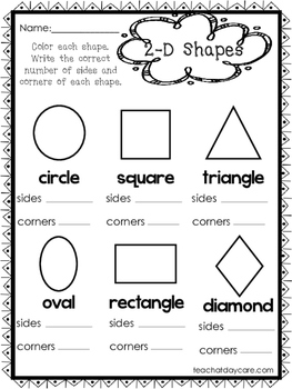 coloring shapes worksheet for grade 1 10 2 d and 3 d shapes worksheets preschool 1st grade math grade shapes coloring 1 worksheet for