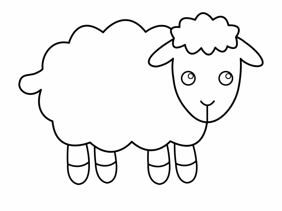 coloring sheep clipart download high quality sheep clipart printable transparent coloring sheep clipart