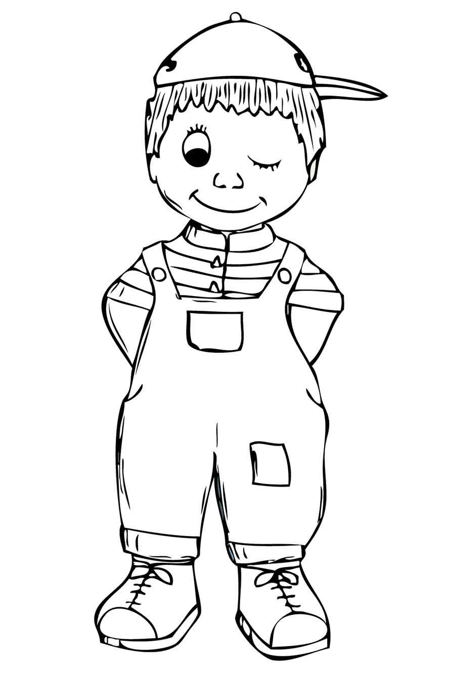 coloring sheet boy boy coloring pages to download and print for free coloring boy sheet 1 1