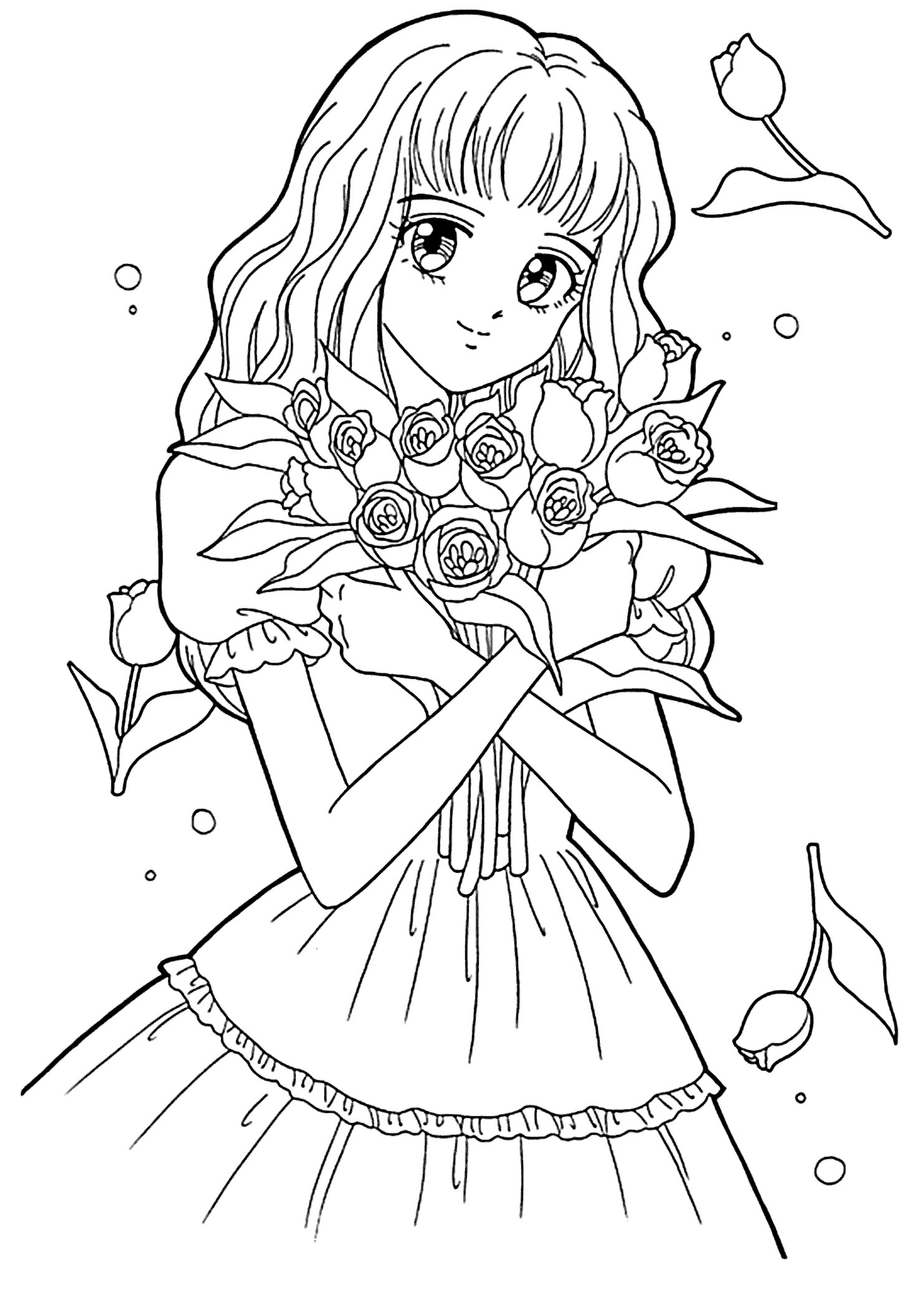 coloring sheet girl outline of girl coloring pages png image transparent png sheet coloring girl