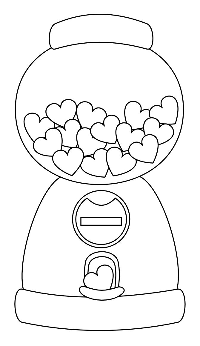 coloring sheet gumball machine coloring page 6 best images of printable gumball machine dot art coloring coloring sheet gumball page machine