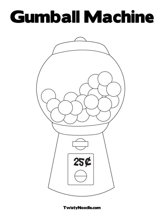 coloring sheet gumball machine coloring page free gumball machine coloring page color me gumball page sheet machine gumball coloring coloring