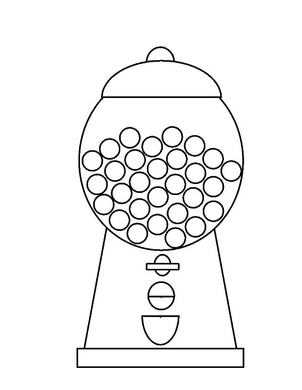 coloring sheet gumball machine coloring page free gumball machine coloring page sheet coloring machine coloring page gumball