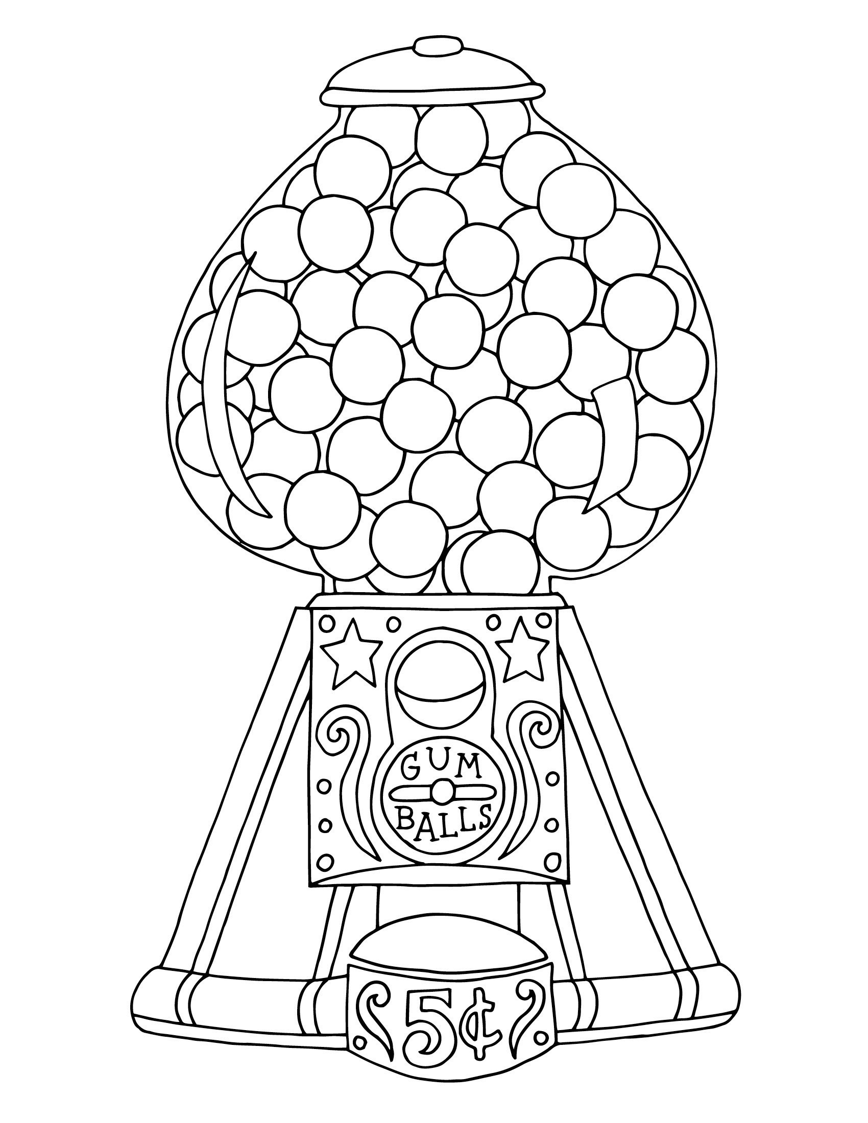 coloring sheet gumball machine coloring page gumball machine coloring page at getdrawings free download gumball coloring sheet coloring page machine