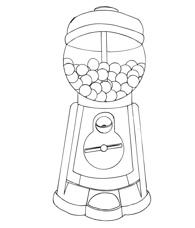 coloring sheet gumball machine coloring page gumball machine coloring page childrencoloringus sheet coloring gumball page machine coloring