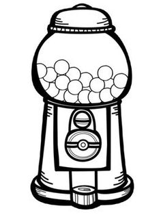 coloring sheet gumball machine coloring page gumball machine coloring page page gumball coloring sheet coloring machine