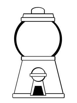 coloring sheet gumball machine coloring page gumball machine coloring pages coloring sheet page machine gumball coloring