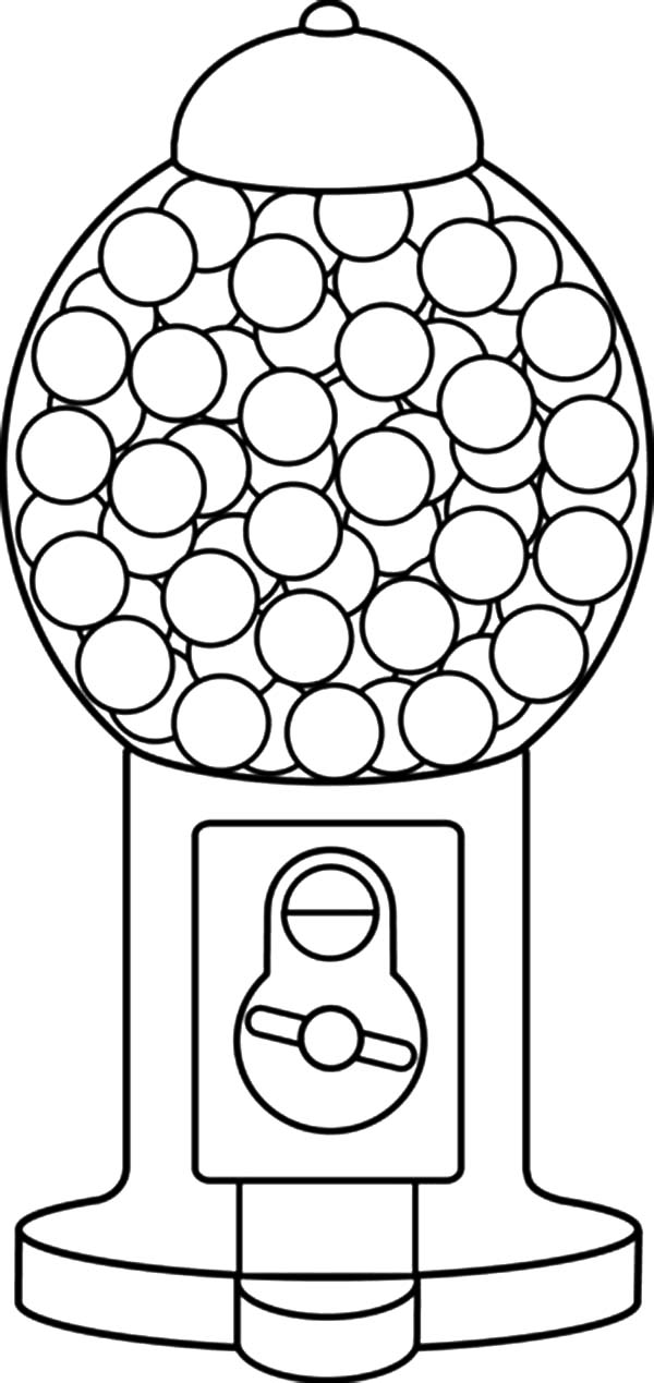 coloring sheet gumball machine coloring page gumball machine coloring pages machine sheet coloring gumball page coloring
