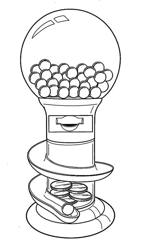 coloring sheet gumball machine coloring page round coloring pages coloring home page coloring machine gumball coloring sheet