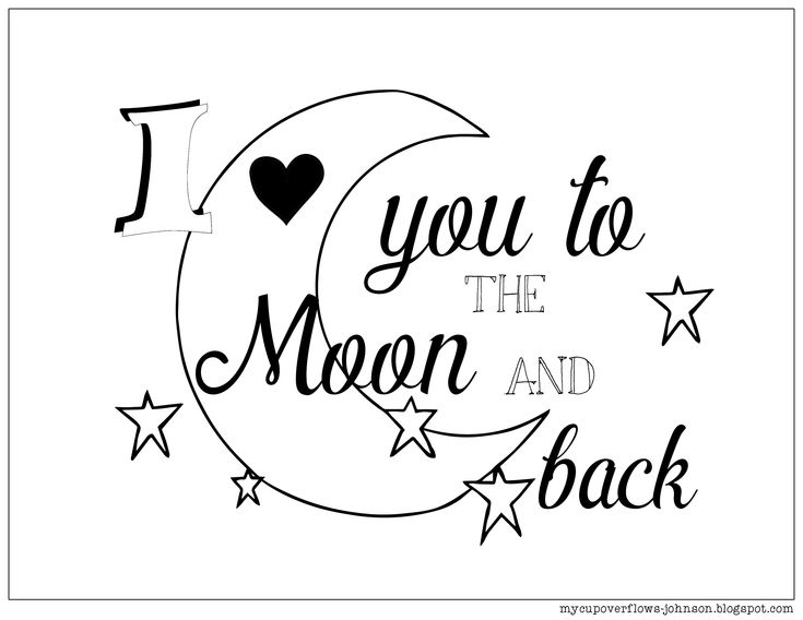 coloring sheet i love you to the moon and back coloring pages i love you to the moon and back coloring pages coloring pages i pages sheet back moon coloring you coloring the and love to