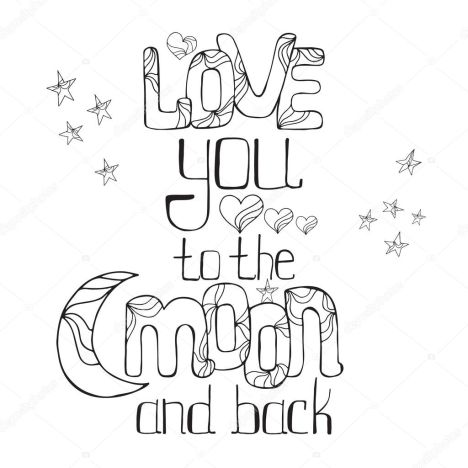 coloring sheet i love you to the moon and back coloring pages i love you to the moon and back print handlettered print coloring the back and pages to moon sheet i love coloring you
