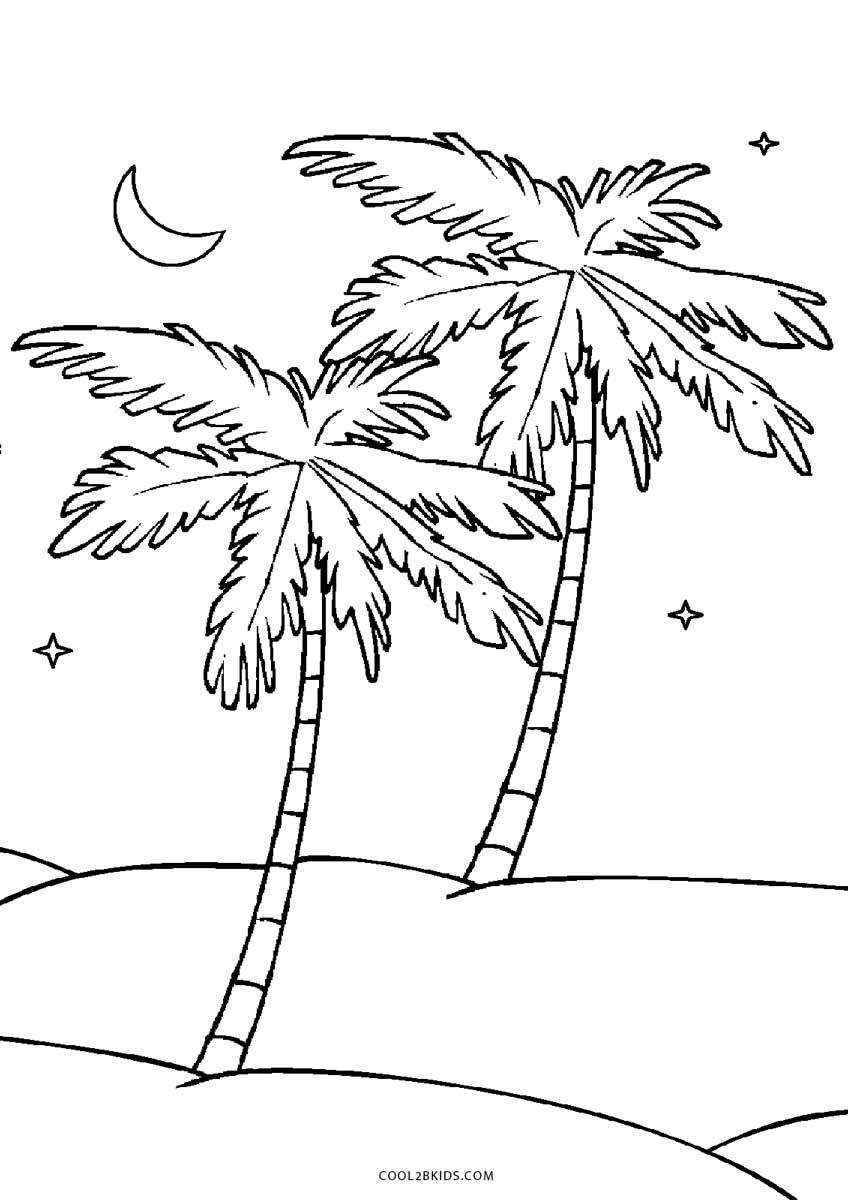 coloring sheet of a tree free printable tree coloring pages for kids cool2bkids of a coloring tree sheet