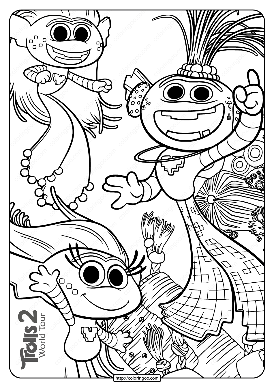 coloring sheet trolls troll doll coloring page at getdrawings free download sheet coloring trolls