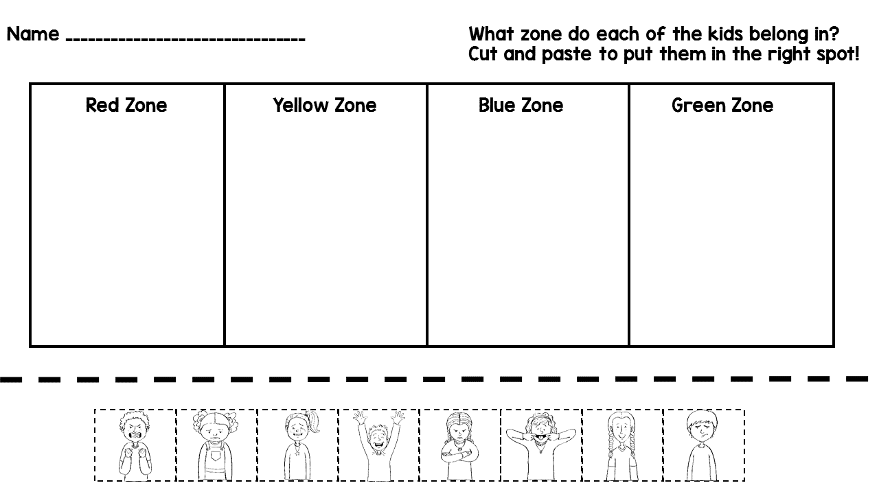 coloring sheet zone printable free printable zones of regulation zones of regulation coloring pages google search zone coloring free of printable regulation printable sheet zones