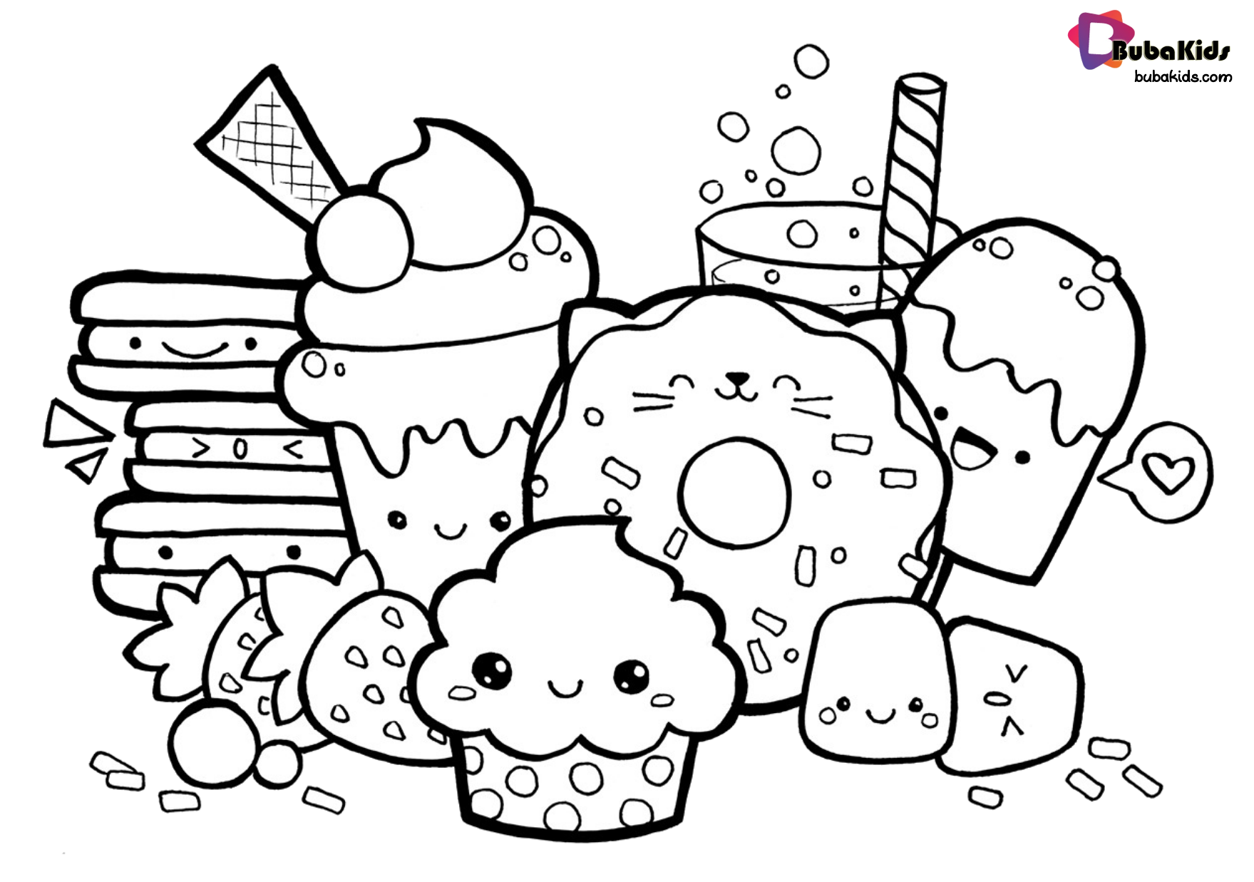 coloring sheets easy food cute food coloring pages cartoon pizza free printable coloring sheets food easy