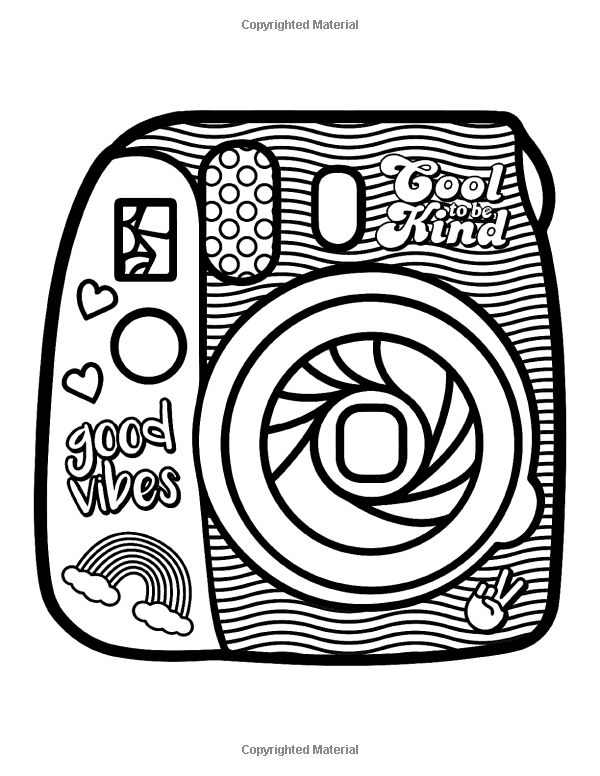 coloring sheets vsco amazoncom vsco girl coloring book for trendy confident coloring sheets vsco