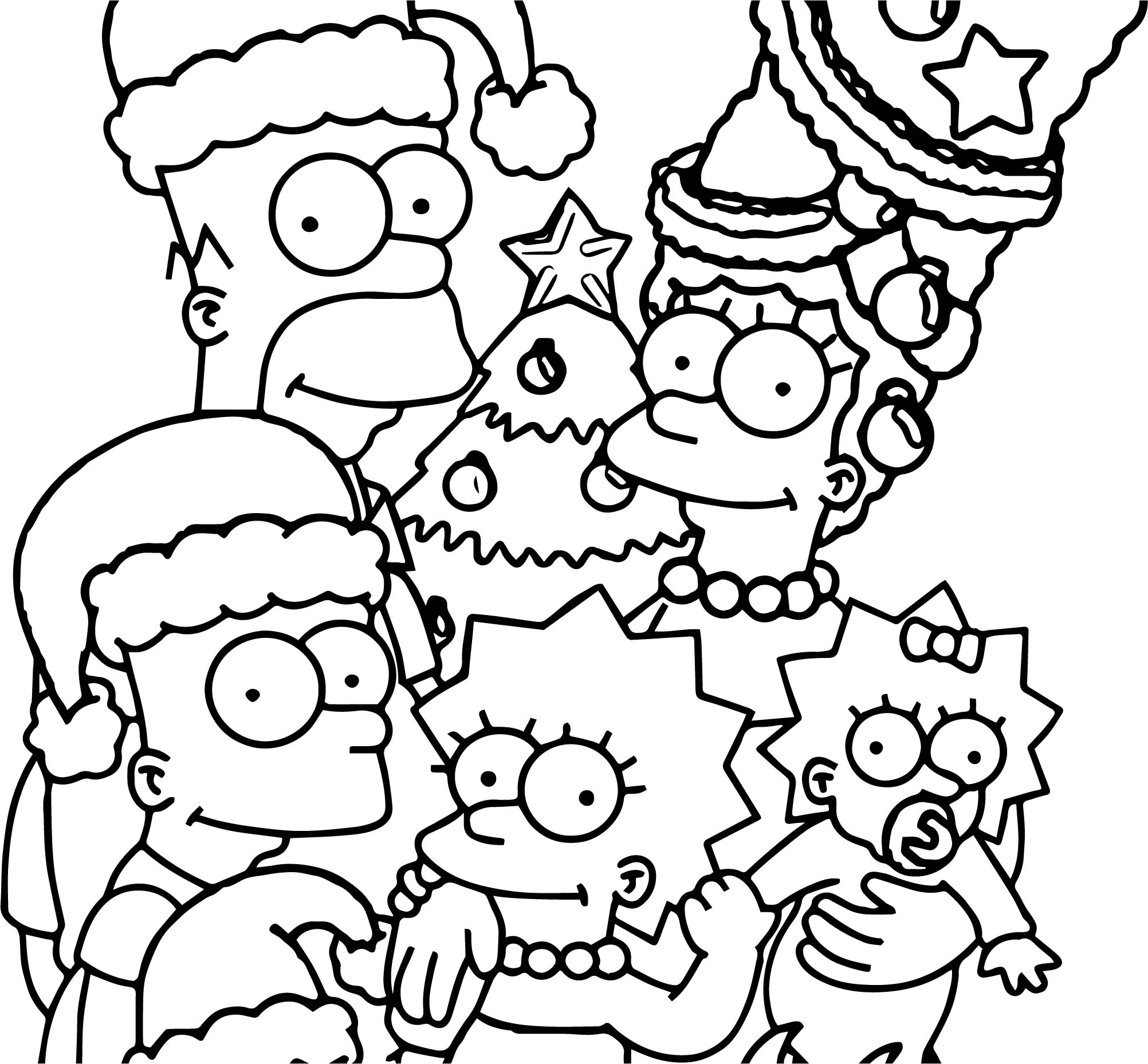 coloring simpsons 32 simpsons coloring pages printable pdf print color craft simpsons coloring