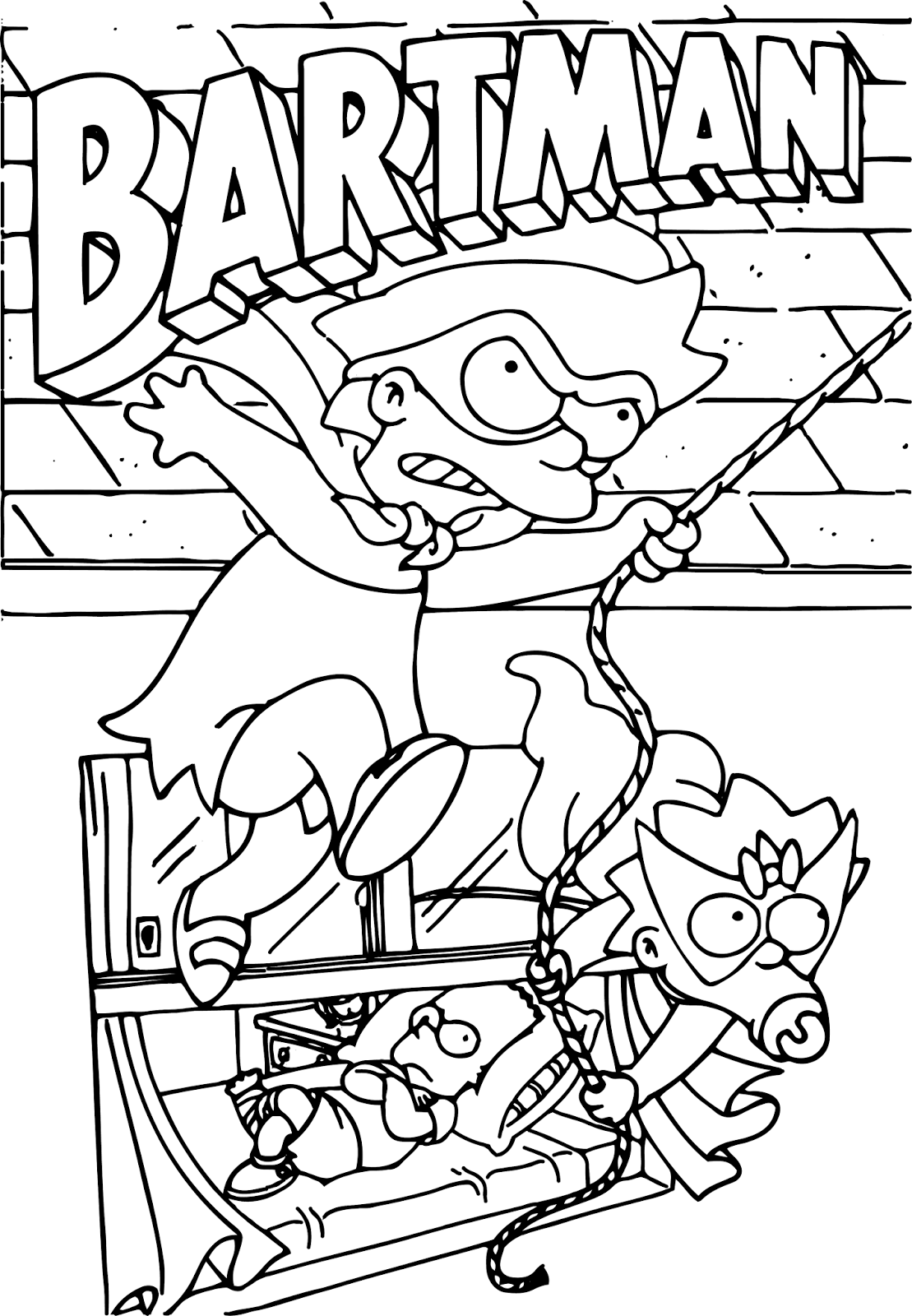 coloring simpsons simpson coloring pages to download and print for free simpsons coloring