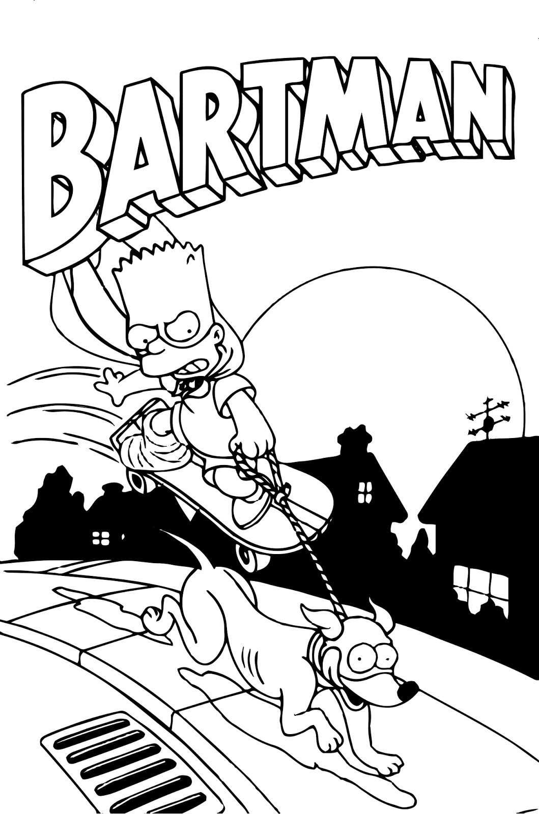 coloring simpsons simpsons coloring pages and book uniquecoloringpages simpsons coloring