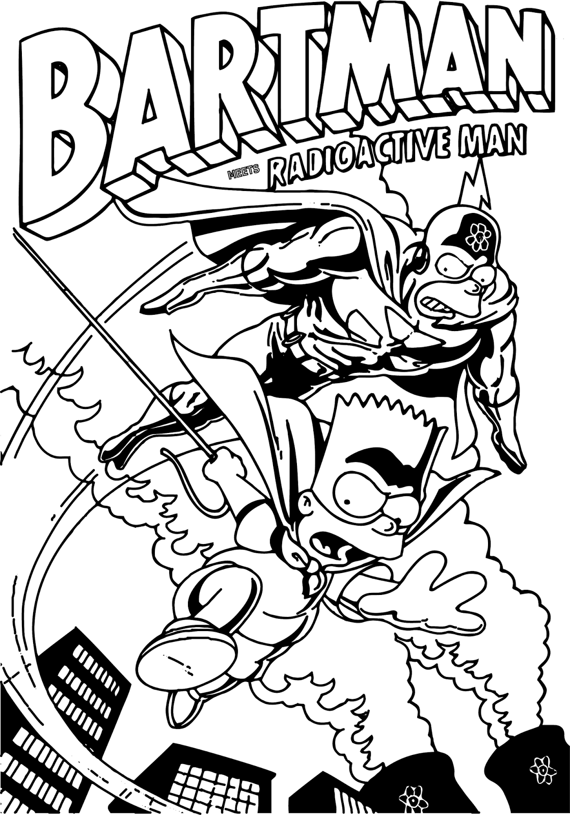 coloring simpsons the simpsons coloring pages download and print the coloring simpsons