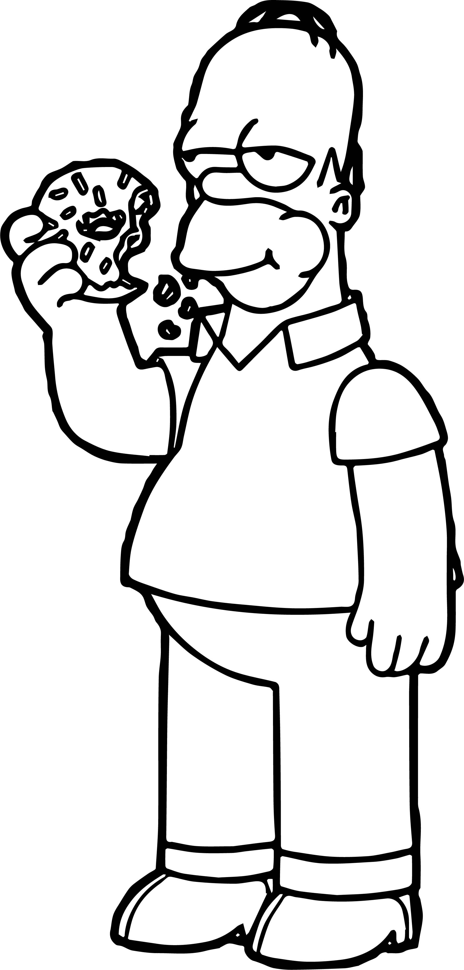 coloring simpsons the simpsons coloring pages download and print the simpsons coloring 1 1