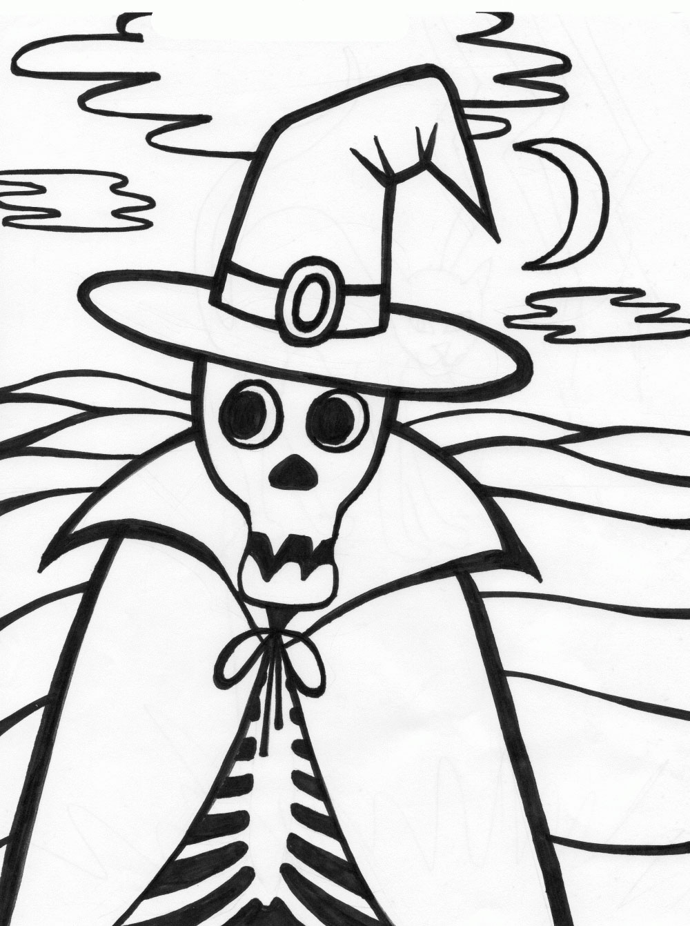 coloring skeleton pictures free printable skeleton coloring pages for kids skeleton coloring pictures 1 1