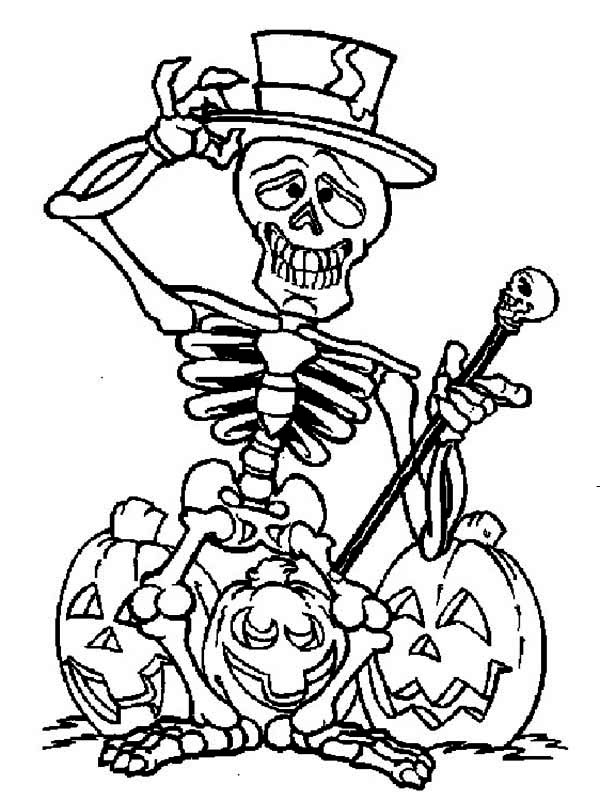 coloring skeleton pictures free skeleton picture for kids download free clip art coloring skeleton pictures