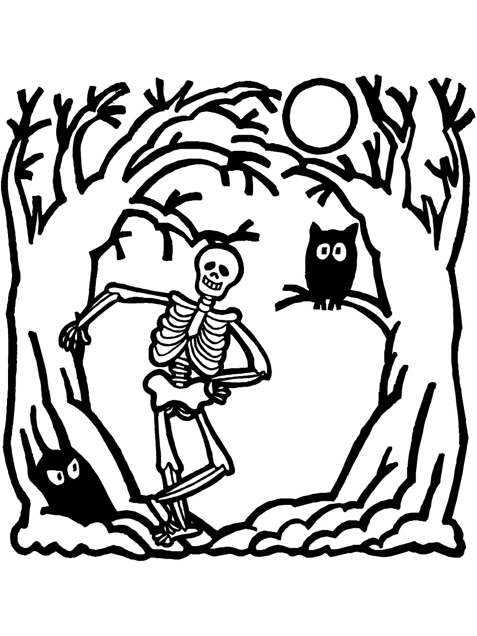 coloring skeleton pictures skeleton coloring pages to print sketch coloring page coloring pictures skeleton