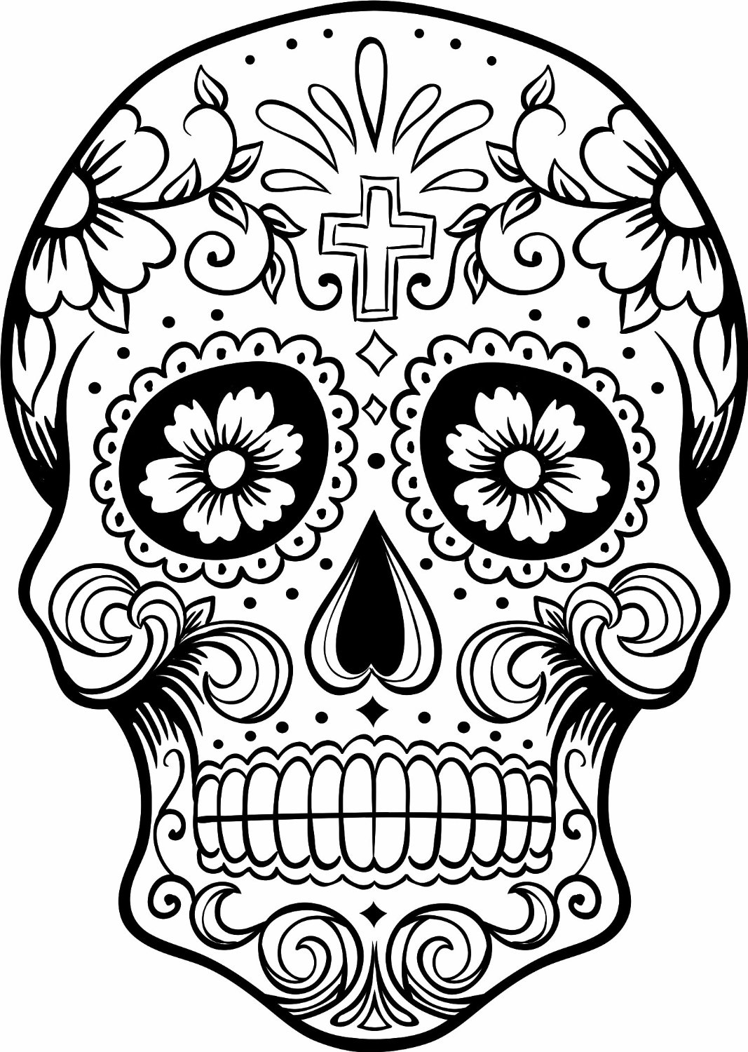 coloring skull for kids coloring pages skulls coloring home coloring skull for kids