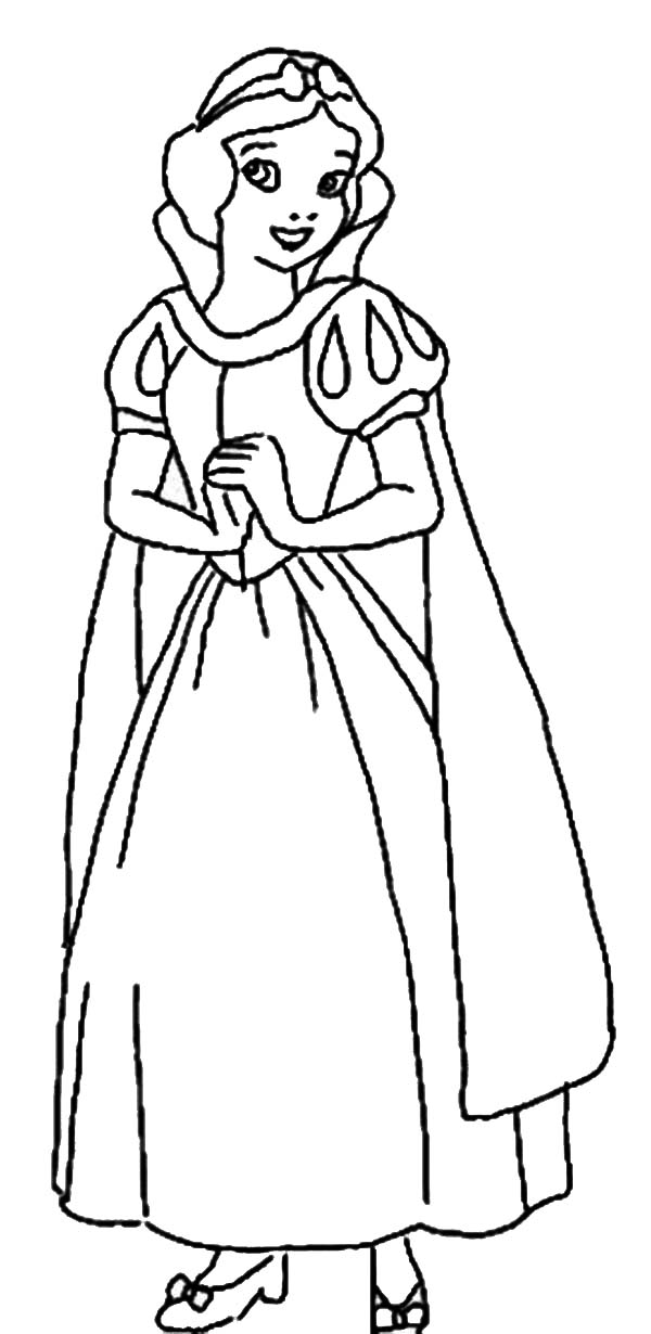 coloring snow white birds snow white coloring pages disneyclipscom coloring snow white birds