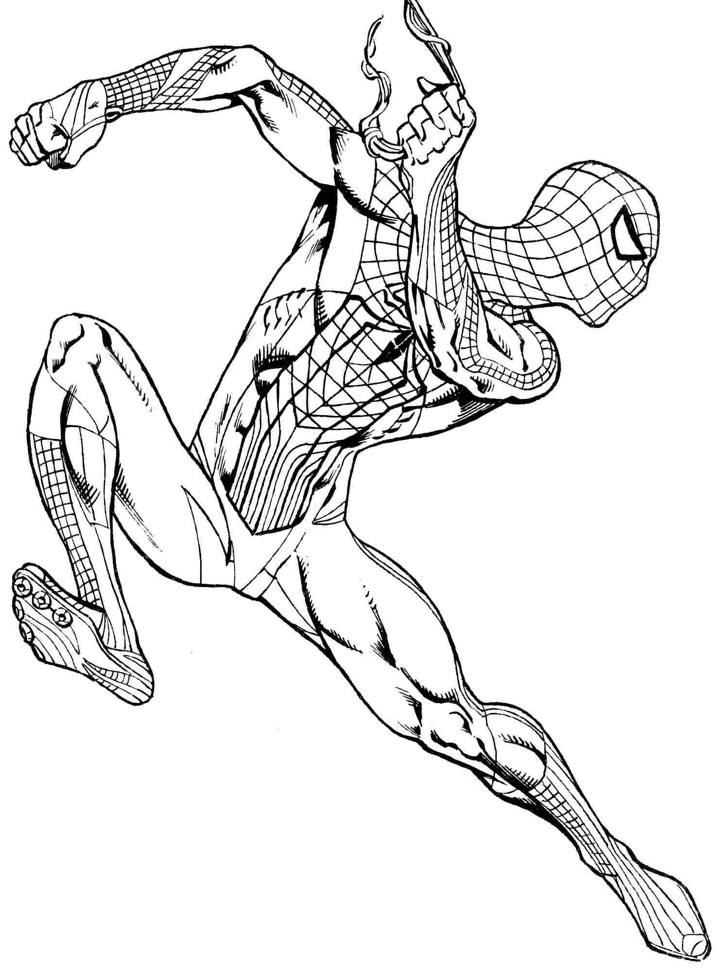 coloring spiderman color get this spiderman coloring pages free printable 679154 coloring spiderman color