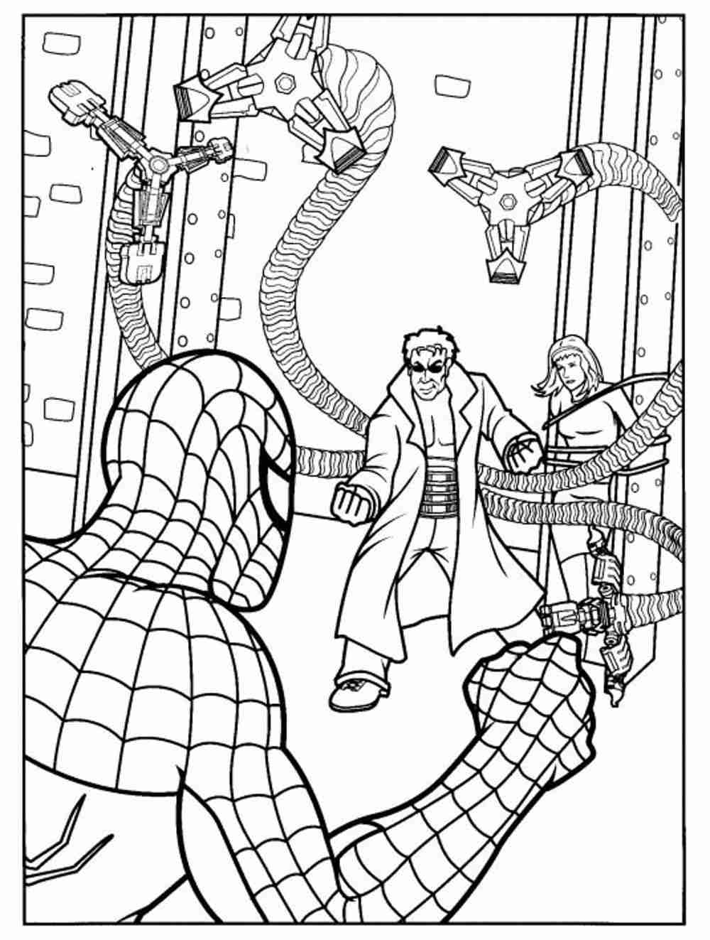 coloring spiderman color spiderman coloring pages free download on clipartmag color coloring spiderman