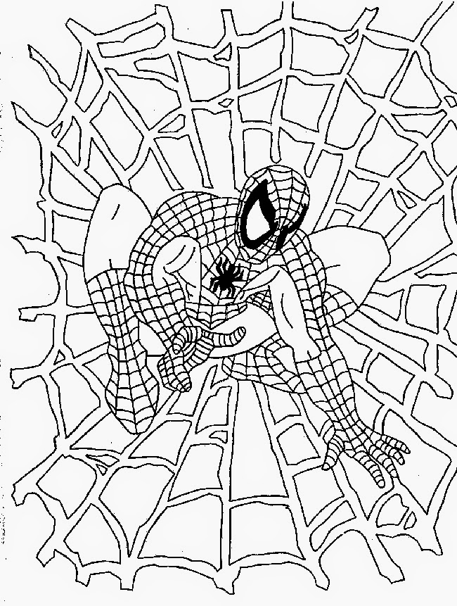 coloring spiderman color spiderman free to color for children spiderman kids spiderman color coloring