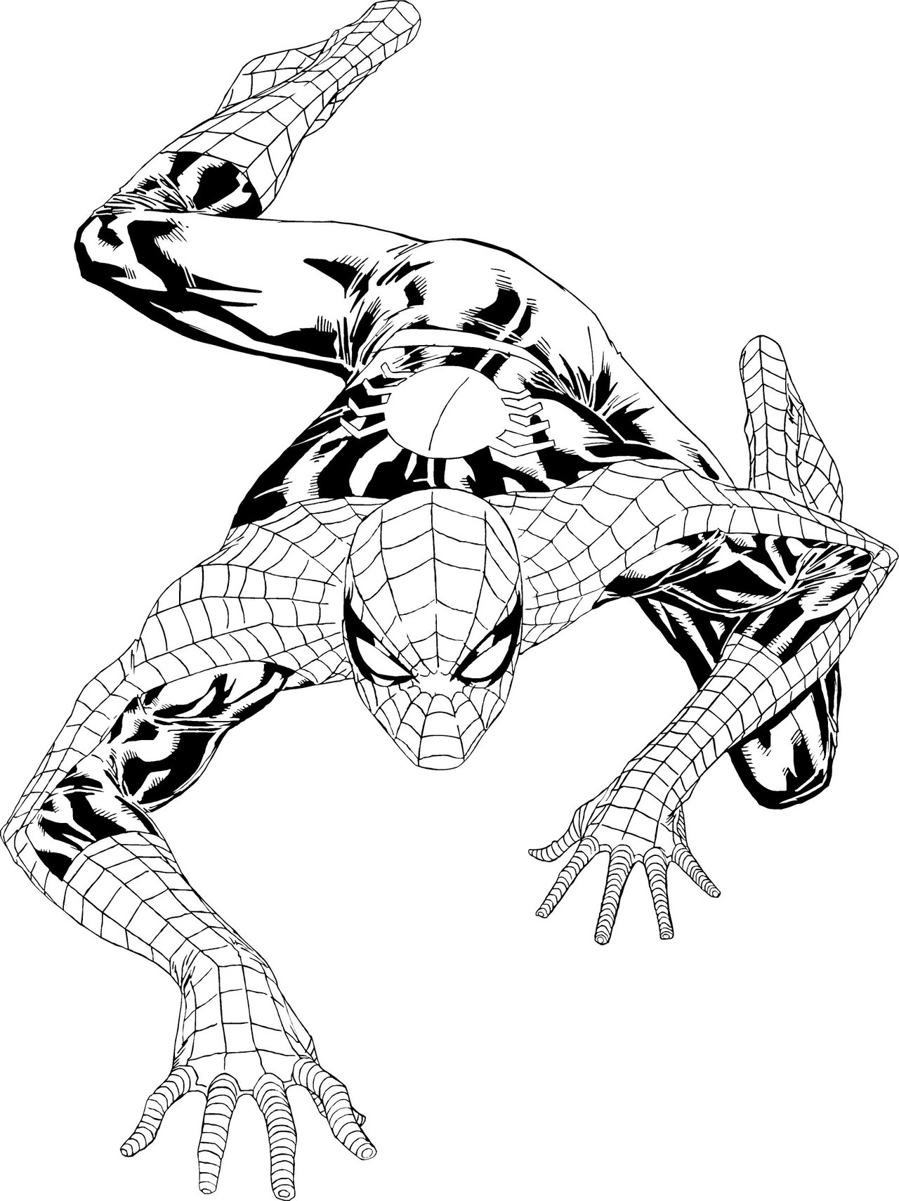 coloring spiderman color spiderman to print spiderman kids coloring pages coloring color spiderman