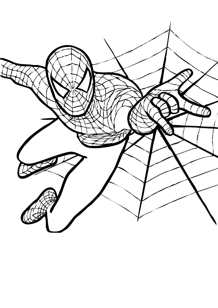 coloring spiderman for kids interactive magazine coloring pictures of spiderman spiderman for coloring kids