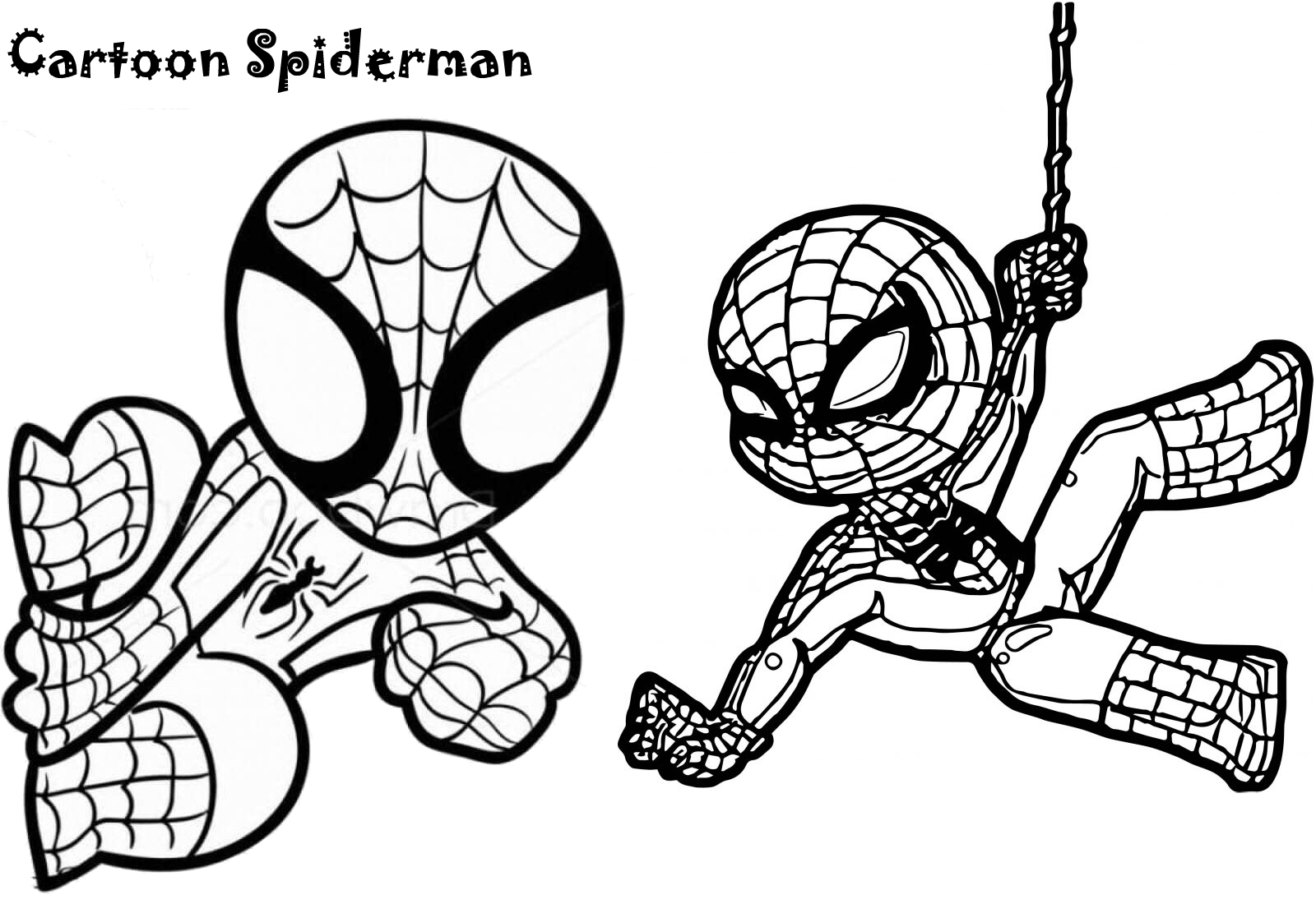 coloring spiderman for kids spiderman coloring pages coloring pages for kids coloring for kids spiderman